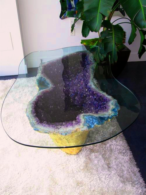 Amethyst Coffee Table