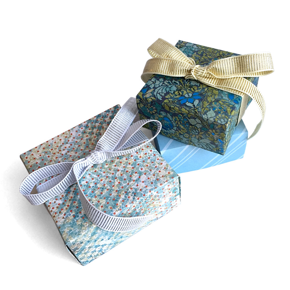 Blue Gift Boxes