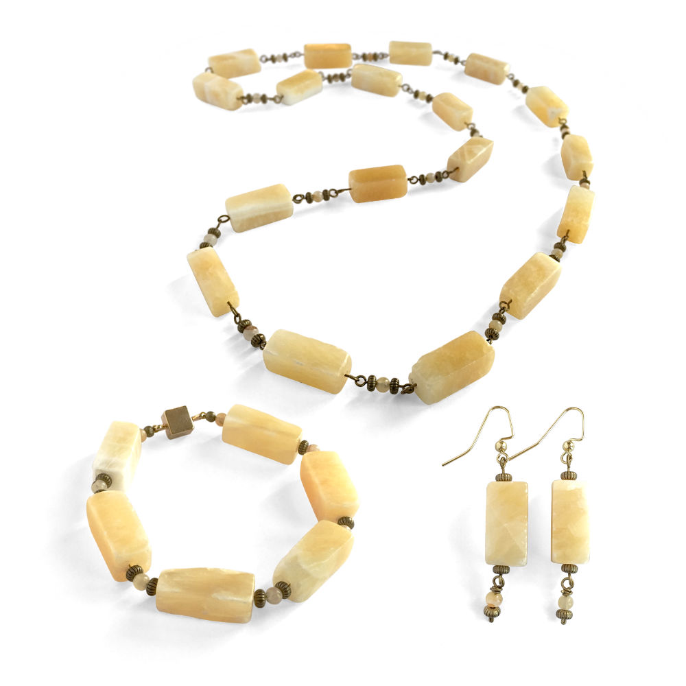 Calcite Necklace Set