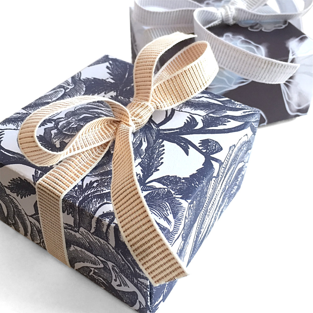 Dark Blue Gift Boxes