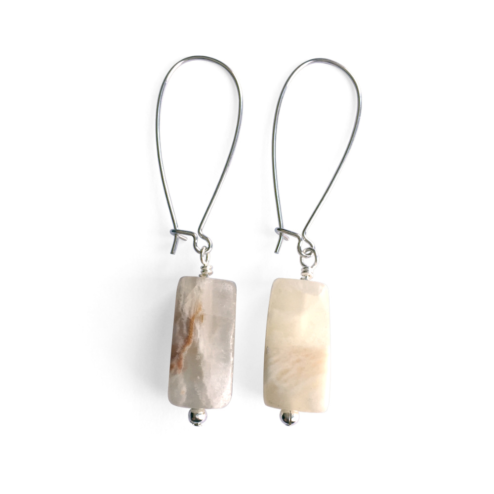 Italian Onyx Dangle Earrings