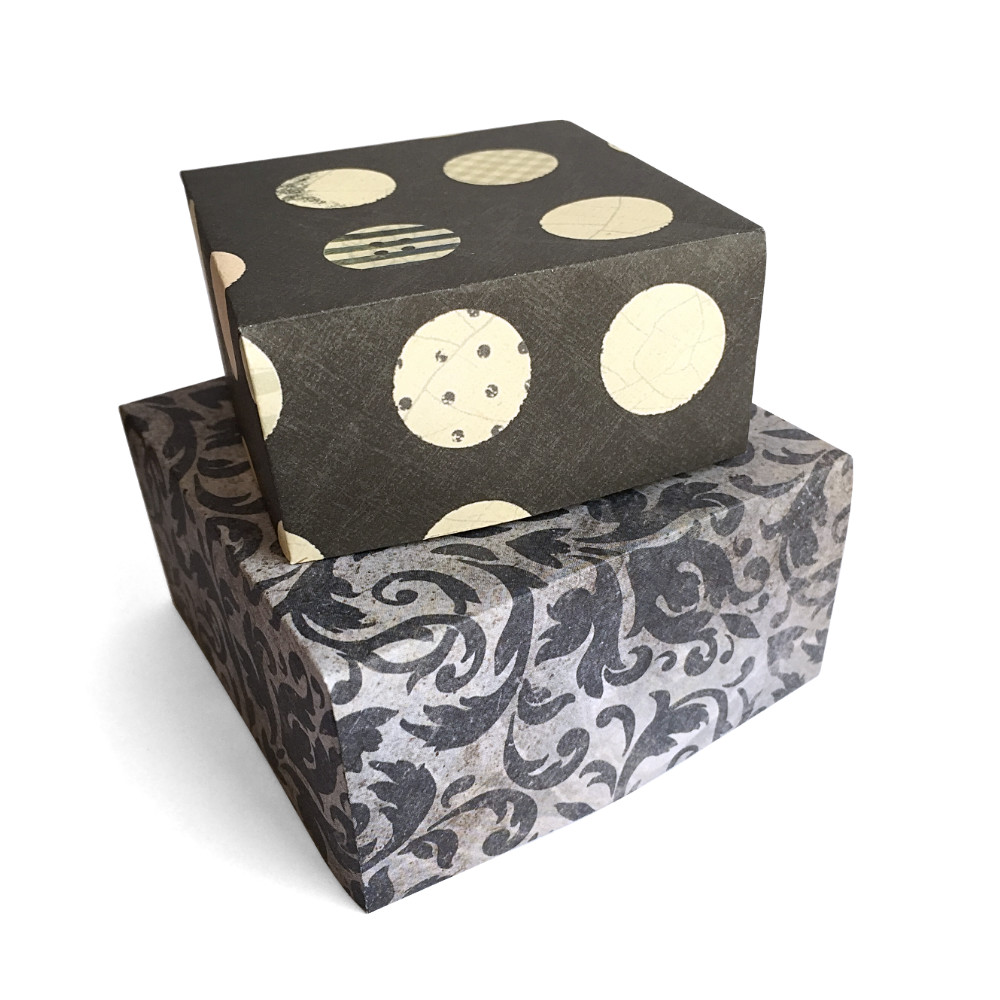 Grey Gift Boxes