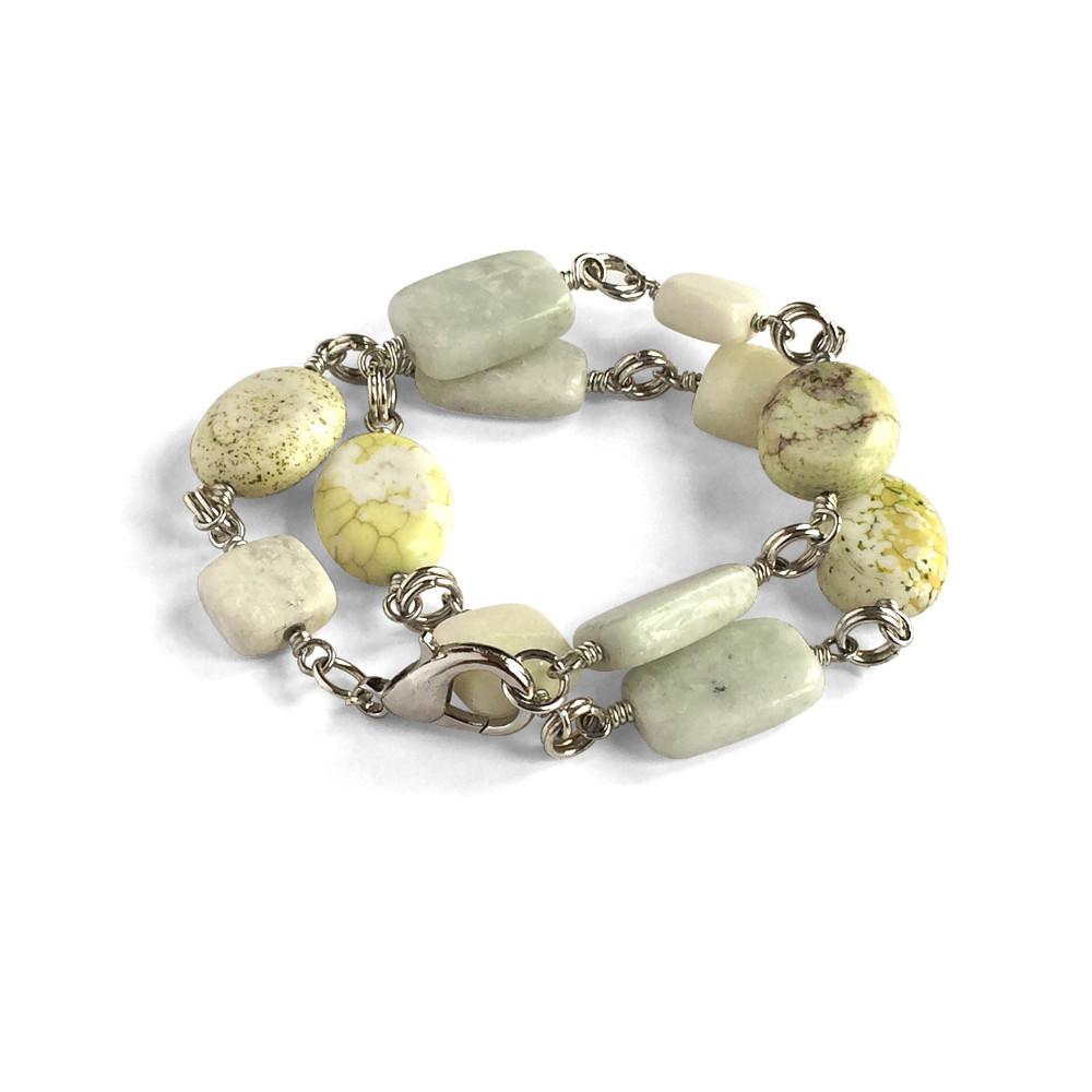 Trio-Stone Bracelet