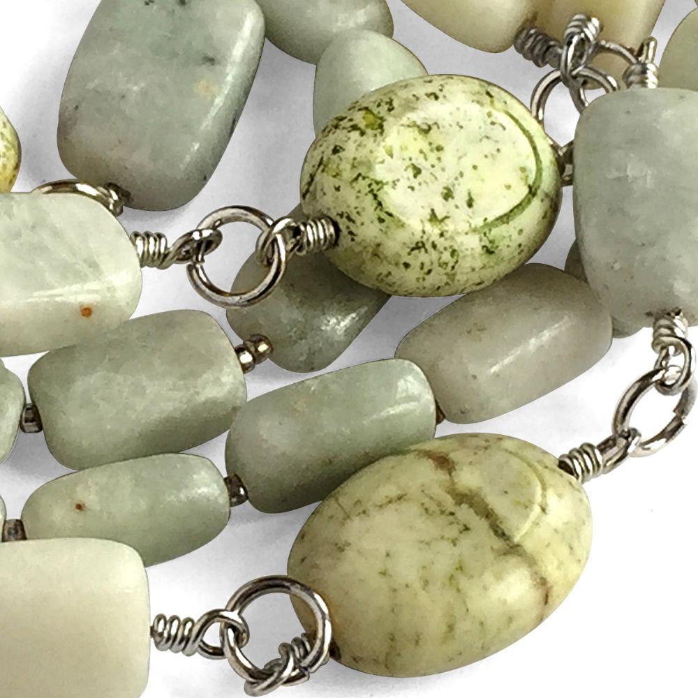 Trio-Stone Necklace