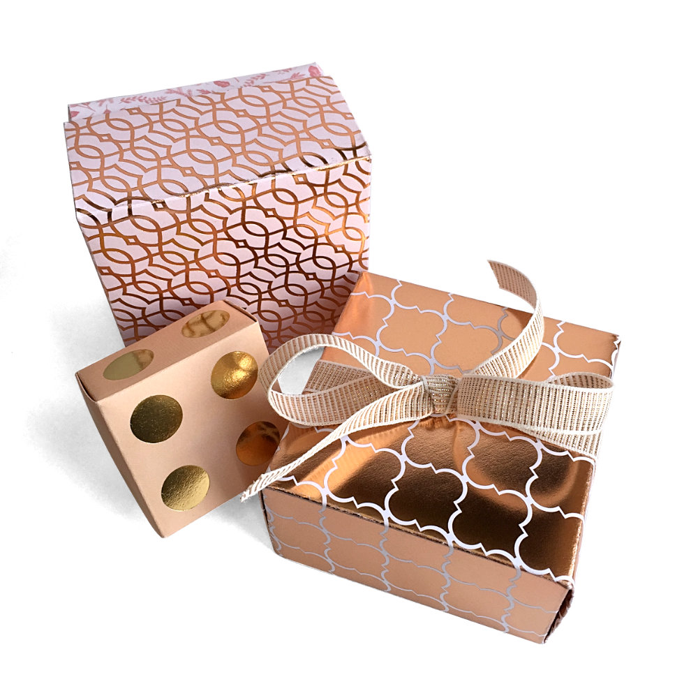 Rose Gold Gift Boxes